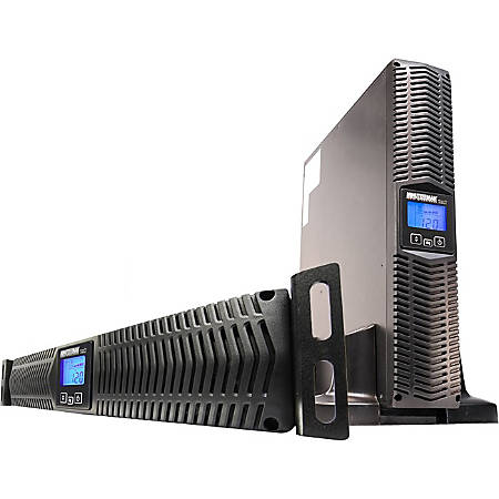 Minuteman 1500 VA Line Interactive Rack/Wall/Tower UPS with 8 Outlets - 2U Wall Mountable, Rack-mountable, Tower - 5 Minute Stand-by - 120 V AC, 125 V AC Input - 8 x NEMA 5-15R