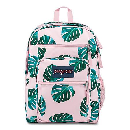 JanSport® Big Student Backpack, Monstera Leaves