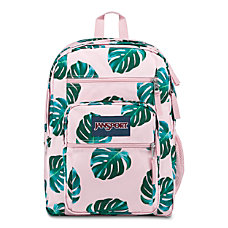 JanSport Big Student Backpack Monstera Leaves