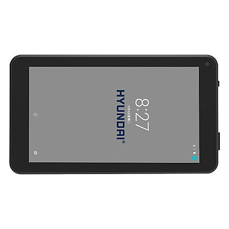 """Hyundai Koral 7W3 Tablet - 7"""" - 1 GB - 8 GB - Android 7.0 Nougat - 1024 x 600 - In-plane Switching (IPS) Technology - Black"""