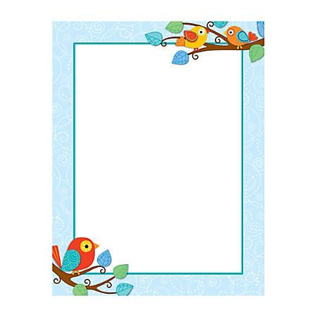 "Carson-Dellosa Boho Birds Chartlet, 17"" x 22"", Pre-K - Grade 8"