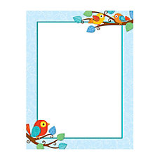 Carson Dellosa Boho Birds Chartlet 17