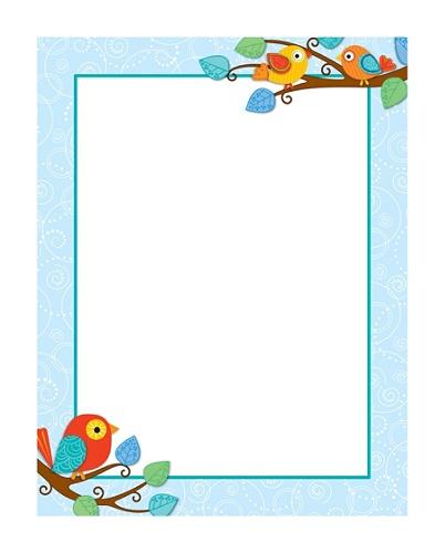 Carson Dellosa Boho Birds Chartlet 17 X 22 Pre K Grade 8 Office Depot