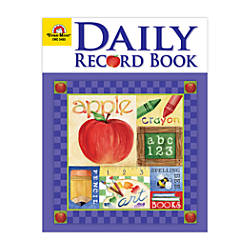 Evan Moor Daily Record Book School