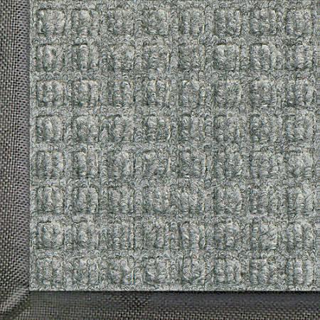 WaterHog Floor Mat, Classic, 4' x 6', Medium Gray