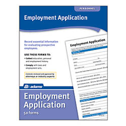 Adams Application for Employment