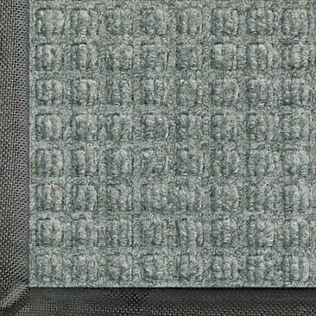 WaterHog Floor Mat, Classic, 6' x 12', Medium Gray