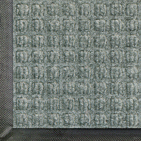 WaterHog Floor Mat, Classic, 6' x 20', Gray Ash