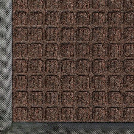 WaterHog Floor Mat, Classic, 3' x 5', Dark Brown