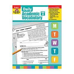 Evan Moor Daily Academic Vocabulary Grade