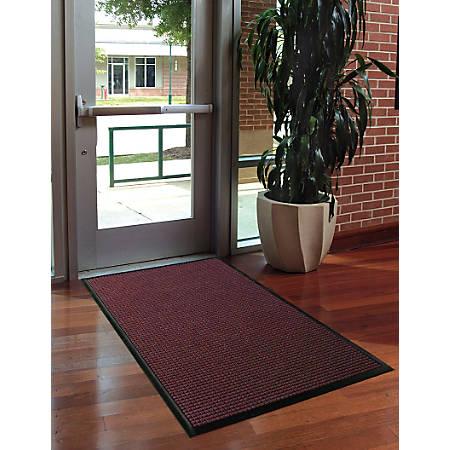 WaterHog Floor Mat, Classic, 3' x 10', Bordeaux