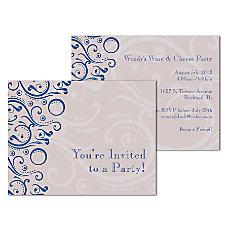 Custom Full Color Flat Note Card