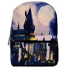 Harry Potter Hogwarts Sublimated Backpack Blue