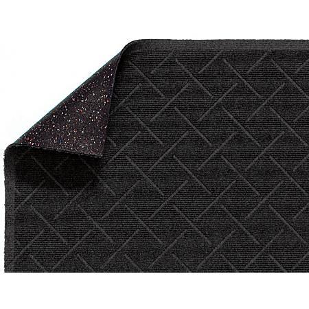Enviro Plus Floor Mat, 3' x 10', Black Smoke
