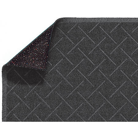 Enviro Plus Floor Mat, 3' x 5', Gray Ash