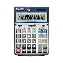 Canon HS 1200TS Desktop Display Calculator