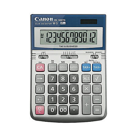 Canon HS-1200TS Desktop Display Calculator