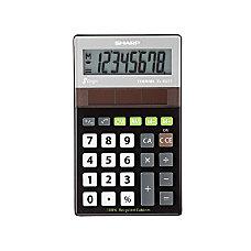 Sharp Calculators ELR277 Recycled Handheld Calculator