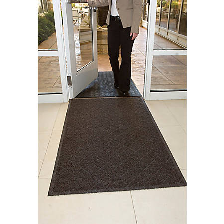Enviro Plus Floor Mat, 3' x 10', Chestnut Brown