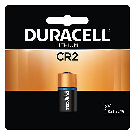 Duracell Photo 3-Volt Lithium CR2 Battery, Pack Of 1 Item # 590370