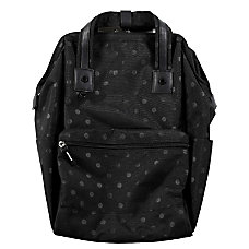 Heritage Polka Dot Computer Backpack With