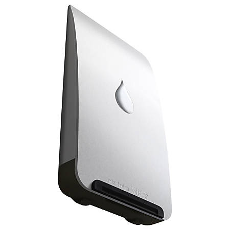 "Rain Design iSlider stand for iPad/iPhone-Silver - Vertical, Horizontal - 5.5"" x 3"" x 0.9"" - Aluminum"