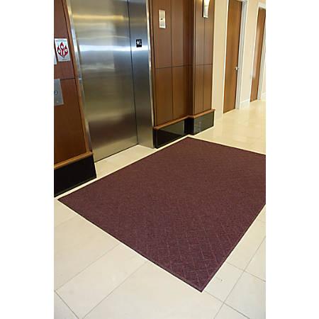 Enviro Plus Floor Mat, 3' x 5', Maroon