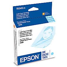 Epson T0345 T034520 UltraChrome Light Cyan