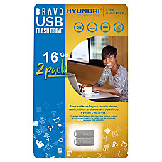 Hyundai 16GB Bravo USB 20 Flash