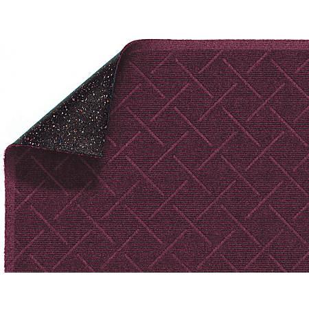 Enviro Plus Floor Mat, 4' x 10', Maroon