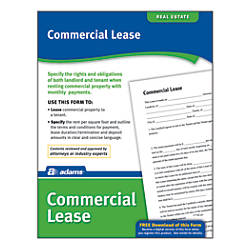Adams Commercial Lease By Office Depot  Officemax