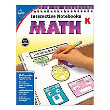 Carson Dellosa Interactive Notebook For Math