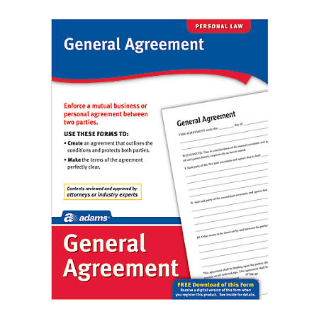Adams® General Agreement