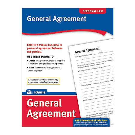 Adams® General Agreement