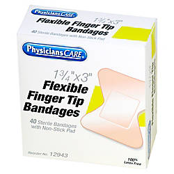 PhysiciansCare First Aid Fingertip Bandage 175