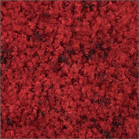 Tri-Grip Floor Mat, 4' x 10', Black/Red