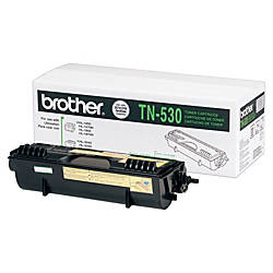 Brother TN 530 Black Toner Cartridge