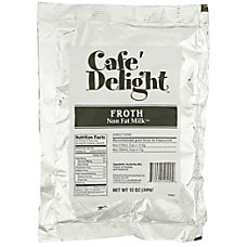 Caf Delight Frothy Topping 12 Oz