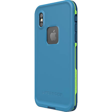 "LifeProof FRE for iPhone X Case - For Apple iPhone X Smartphone - Banzai - Damage Resistant, Shock Proof, Snow Proof, Drop Proof, Dust Resistant, Dirt Proof, Bump Resistant - 79.20"" Underwater Depth"