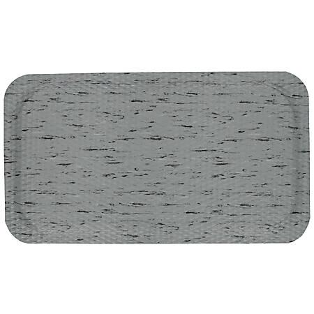 "Hog Heaven Marble Top Floor Mat, 5/8"" Thick, 3' x 12', Granite Dusk"