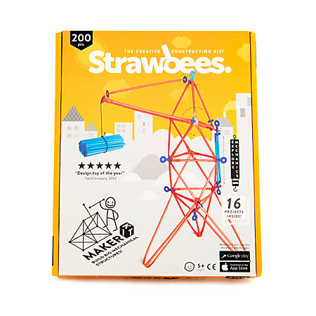 Strawbees 200-Piece Maker Kit