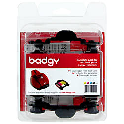 Evolis Badgy Basic Thick Consumable Kit