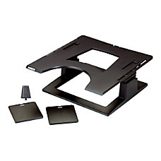 3M Ergonomic Notebook Computer Stand Black
