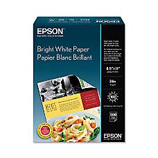Epson Premium Inkjet Paper Letter Paper
