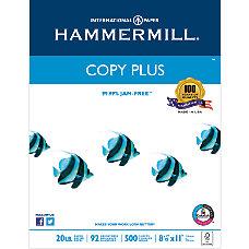 Hammermill Copy Plus MP Paper Letter