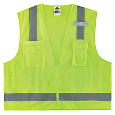 Ergodyne GloWear Safety Vest Economy Surveyors