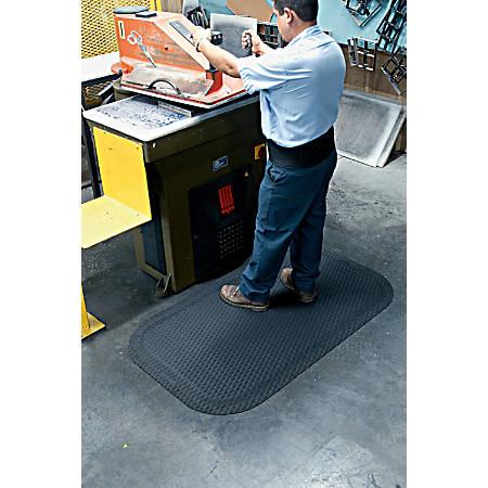 """Hog Heaven Floor Mat, 5/8"""" Thick, 4' x 6', Black"""