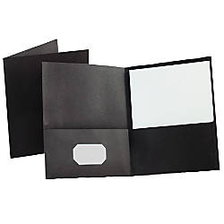 Oxford Twin Pocket Portfolios Black Pack