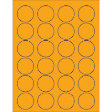 Office Depot Brand Labels LL193OR Circle