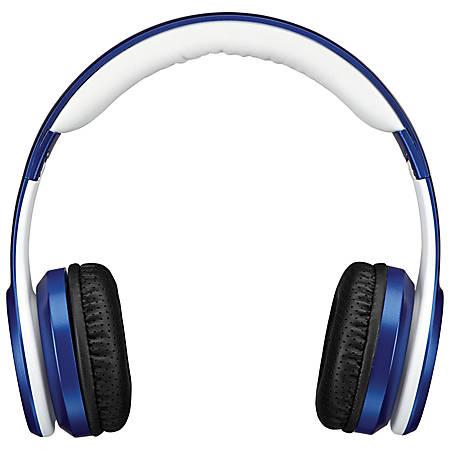 iLive Electronics IAHB239 Bluetooth® Over-The-Ear Headphones, Blue